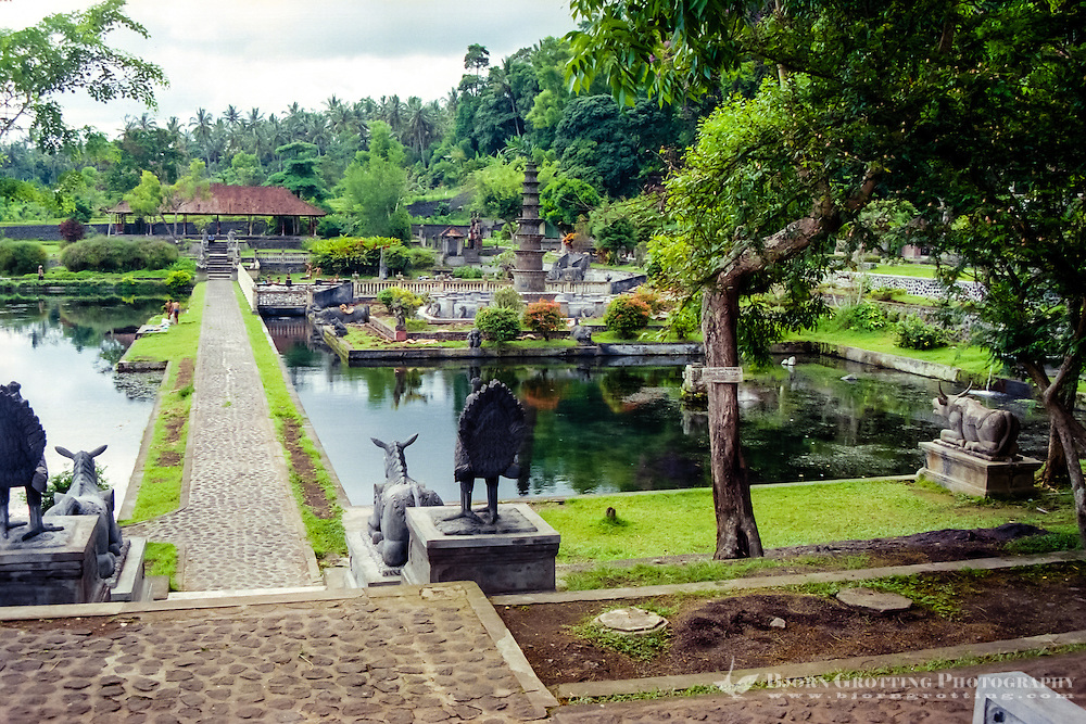 Bali, Karangasem. The Tirta Gangga water palace was a place for rest and recreation for the king and his family.
