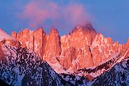 Sierra - Mt. Whitney and Alabama Hills