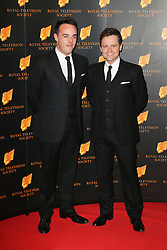 © Licensed to London News Pictures. 18/03/2014, UK. Anthony McPartlin; Declan Donnelly, The Royal Television Society Programme Awards, Grosvenor House Hotel, London UK, 18 March 2014. Photo credit : Richard Goldschmidt/Piqtured/LNP