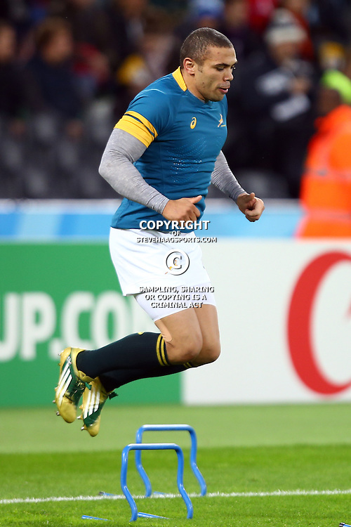 LONDON, ENGLAND - OCTOBER 30: Bryan Habana of South Africa during the Rugby World Cup 3rd Place Playoff match between South Africa and Argentina at Olympic Stadium on October 30, 2015 in London, England. (Photo by Steve Haag/Gallo Images)