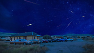 BOLO Photo<br /> Wild West Automotive Photography<br /> 2019 Perseid Meteor Shower<br /> The Grand Illusion<br /> August 10, 2019<br /> Nici Self Historical Museum in Centennial, Wyoming<br /> (1978 Cadillac Fleetwood: Chad Miller)<br /> (1970 Oldsmobile 4-4-2: Curt Wendelboe)<br /> (1964-1/2 Ford Mustang: Lyle Brownell)<br /> (1979 Pontiac Trans Am: Heather Wendelboe)<br /> (1987 Buick Turbo T: Wayne Emmons)<br /> (2018 Dodge Challenger: Amme Baker)<br /> (2019 Ford F-150 Raptor: Joe Mead)<br /> (2017 Ford F-250: Erin Edwards)