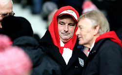 Bristol City fans - Mandatory by-line: Robbie Stephenson/JMP - 11/02/2017 - FOOTBALL - iPro Stadium - Derby, England - Derby County v Bristol City - Sky Bet Championship