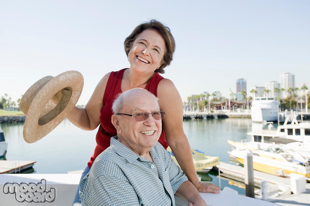 Senior couple on vacations