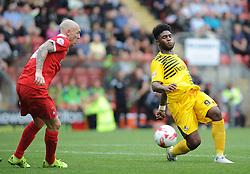 Ellis Harrison of Bristol Rovers - Mandatory byline: Neil Brookman/JMP - 07966386802 - 29/08/2015 - FOOTBALL - Matchroom Stadium -Leyton,England - Leyton Orient v Bristol Rovers - Sky Bet League Two