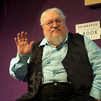 George RR Martin at The Edinburgh International Book Festival. 11th August 2014<br /> <br /> Picture by Alan McCredie/Writer Pictures<br /> <br /> WORLD RIGHTS
