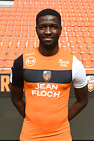 Ibrahima Sory Conte during photoshooting of FC Lorient for new season 2017/2018 on September 12, 2017 in Lorient, France. (Photo by Philippe Le Brech/Icon Sport)