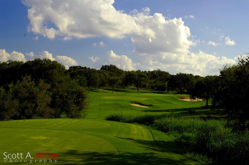 September 7, 2007, San Antonio, Texas; Hole No. 15 at the Briggs Ranch Golf CLub...                ©2007 Scott A. Miller