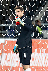 26.11.2011, AWD Arena, Hannover, GER, 1.FBL, Hannover 96 vs Hamburger SV, im Bild Ron-Robert Zieler (Hannover 96) nach dem Ausgleich zum 1:1 für Hannover // during the Match GER, 1.FBL, Hannover 96 vs Hamburger SV, AWD Arena, Hannover, Germany, on 2011/11/26,.EXPA Pictures © 2011, PhotoCredit: EXPA/ nph/ SielskiSielski..***** ATTENTION - OUT OF GER, CRO *****