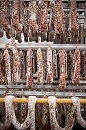 9/09/16 - LA BOISSIERE DES LANDES - VENDEE - FRANCE - Entreprise de transformation et de charcuterie artisanale Tradition de Vendee. Saucissons et Chorizos de Vendee - Photo Jerome CHABANNE