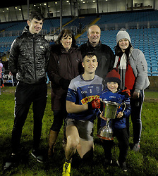 The McCormack's Claremorris with captain James celebrating the Mayo U21 Win