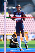 Nathan Ismar competes in High Jump Men during the IAAF World U20 Championships 2018 at Tampere in Finland, Day 5, on July 14, 2018 - Photo Julien Crosnier / KMSP / ProSportsImages / DPPI