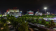 Apr 25, 2019; Nashville, TN, USA; General overall view of Nissan Stadium, the home of the Tennessee Titans. (Brian Villanuevai/Image of Sport)