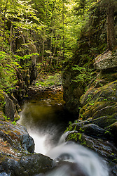 Screw Auger Falls on Gulf Hagas Brook. Appalachian Trail. Maine's 100 Mile Wilderness.