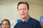 David Cameron speech 7th March 2015 <br /> <br /> Prime Minister David Cameron makes a speech in North London to mark two months until the General Election.<br /> at the Dhamecha Lohana Centre, Brember Road, Harrow London Great Britain <br /> <br /> PPC Hannah David looking on <br /> <br /> Photograph by Elliott Franks <br /> Image licensed to Elliott Franks Photography Services