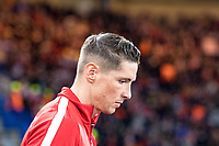 LONDON,ENGLAND - DECEMBER 05: Atletico Madrid (9) Fernando Torres during the UEFA Champions League group C match between Chelsea FC and Atletico Madrid at Stamford Bridge on December 5, 2017 in London, United Kingdom.  <br /> ( Photo by Sebastian Frej / MB Media )