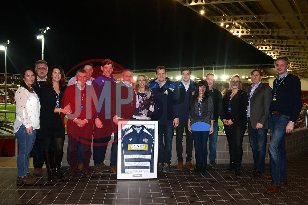 Match day sponsor - Mandatory byline: Dougie Allward/JMP - 22/01/2016 - RUGBY - Ashton Gate -Bristol,England - Bristol Rugby v Ulster Rugby - B&I Cup