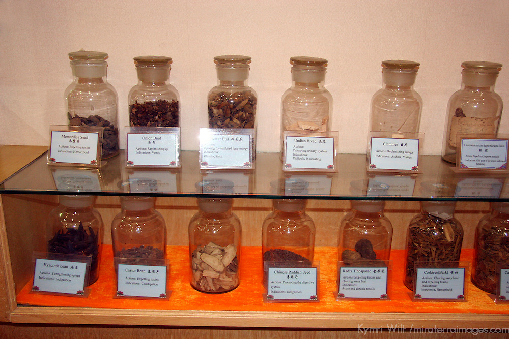 Asia, China, Guilin. Natural herbs used in Chinese medicine.