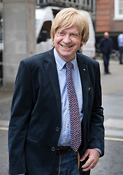 © Licensed to London News Pictures. 24/04/2017. London, UK. Michael Fabricant MP arrives at Conservative party headquarters in London. The Prime Minister posed for portraits with individual Conservative candidates at headquarters ahead of general election which is due to take place on June 8th. Photo credit: Peter Macdiarmid/LNP