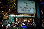 """[English]  Nearly 80 unaccompanied under-aged migrants arrive in Paris every month, looking for a place to stay and a better life. Most of them come from Afghanistan. Every night at the """"Colonel Fabien"""" square, they try to get to the bus taking them to in foster care for homeless people. Unfortunately, they are rejected because they cannot be mixed with adults, as a legal point of view.<br /> <br /> [Francais]  Les exiles afghans se rassemblent par dizaines tous les soirs place Colonel Fabien (Xeme). Un service de bus nomme Atlas, gere par des associations et finance par l'etat, emmene les plus chanceux vers le centre d'hebergement d'urgence de nuit Sonacotra de la «Boulangerie» (XVIIIeme)..La selection est difficile. Legalement tenus de les dissocier des majeurs dans toute filiere d'accueil, le personnel du bus refuse les mineurs. Le dispositif d'etat qui leur est dedie par ailleurs est sous-dimensionne et peu de places se liberent chaque jour. De nombreux mineurs sont donc contraints a trouver un abri de fortune pour passer la nuit."""