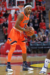 10 December 2016:   Jacolby Mobley during an NCAA  mens basketball game between the UT Martin Skyhawks and the Illinois State Redbirds in a non-conference game at Redbird Arena, Normal IL