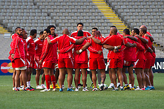 Auckland-Rugby, RWC, Tonga captains run