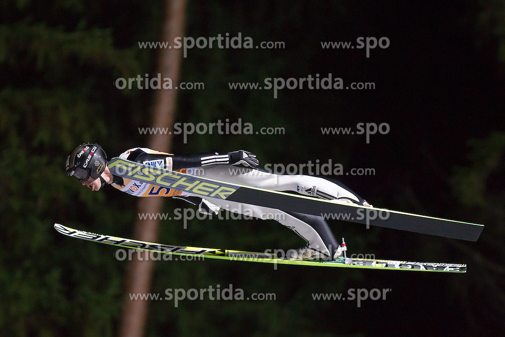21.11.2014, Vogtland Arena, Klingenthal, GER, FIS Weltcup Ski Sprung, Klingenthal, Herren, HS 140, Qualifikation, im Bild ROMAN KOUDELKA // during the mens HS 140 qualification of FIS Ski jumping World Cup at the Vogtland Arena in Klingenthal, Germany on 2014/11/21. EXPA Pictures &copy; 2014, PhotoCredit: EXPA/ Newspix/ Katarzyna Plewczynska<br /> <br /> *****ATTENTION - for AUT, SLO, CRO, SRB, BIH, MAZ, TUR, SUI, SWE only*****