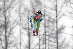 10.02.2018, Jeongseon Alpine Centre, Pyeongchang, KOR, PyeongChang 2018, Ski Alpin, Herren, Abfahrt, Training, im Bild Klemen Kosi (SLO) // Klemen Kosi of Slovenia during the Mens Ski Alpine Downhill Training of the Pyeongchang 2018 Winter Olympic Games at the Jeongseon Alpine Centre in Pyeongchang, South Korea on 2018/02/10. EXPA Pictures © 2018, PhotoCredit: EXPA/ Johann Groder