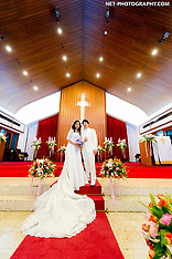 Bangkok Wedding Photography: Wattana Church & Bangkok Marriott Marquis Queen's Park