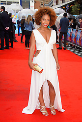 Image ©Licensed to i-Images Picture Agency. 12/08/2014. London, United Kingdom. <br /> Jade Avia attends the What If - UK film premiere. Leicester Square. Picture by Chris Joseph / i-Images
