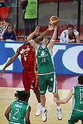 DESCRIZIONE : Roma Lega A1 2008-09 Lottomatica Virtus Roma Montepaschi Siena<br /> GIOCATORE : Ksistof Lavrinovic<br /> SQUADRA : Montepaschi Siena<br /> EVENTO : Campionato Lega A1 2008-2009 <br /> GARA : Lottomatica Virtus Roma Montepaschi Siena<br /> DATA : 16/11/2008 <br /> CATEGORIA : rimbalzo<br /> SPORT : Pallacanestro <br /> AUTORE : Agenzia Ciamillo-Castoria/E.Castoria<br /> Galleria : Lega Basket A1 2008-2009 <br /> Fotonotizia : Roma Campionato Italiano Lega A1 2008-2009 Lottomatica Virtus Roma Montepaschi Siena<br /> Predefinita :