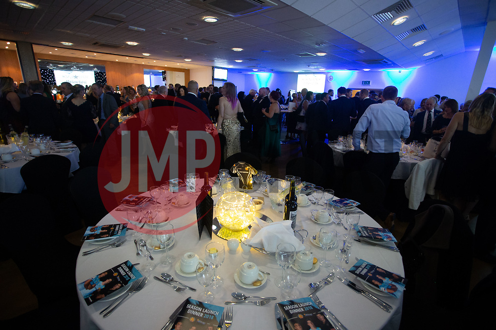 Guests enjoy drinks as they mingle before dinner - Ryan Hiscott/JMP - 06/08/2018 - RUGBY - Sandy Park - Exeter, England - Exeter Chiefs Season Launch Dinner