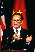Chinese Premier Jiang Zemin October 29, 1997 in Washington, DC.