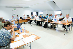 Meeting of Executive Committee of Ski Association of Slovenia (SZS) on June 9, 2014 in SZS, Ljubljana, Slovenia. Photo by Vid Ponikvar / Sportida
