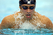 Sam Bree (NZ) 100m breaststroke heats<br />2006 Telstra Commonwealth Games<br />Swimming Trials,  January 31st<br />Melbourne Sports &amp; Aquatics Centre <br />&copy; Sport the library/Jeff Crow