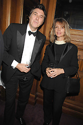 BRYAN FERRY and SABRINA GUINNESS at a gala in aid of the Raisa Gorbachev Charitable Foundation in honour of the late Russian dancer Maris Liepa held at The London Coliseum, London on 24th February 2008.<br /><br />NON EXCLUSIVE - WORLD RIGHTS