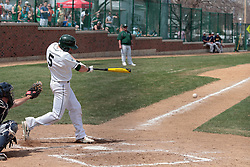 12 April 2014:  Tim Coonan during an NCAA division 3 College Conference of Illinois and Wisconsin (CCIW) baseball game between the Augustana Vikings and the Illinois Wesleyan Titans at Jack Horenberger Stadium, Bloomington IL