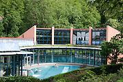 Therme, Kurpark, Bad Suderode, Harz, Sachsen-Anhalt, Deutschland | thermal bath, spa gardens, Bad Suderode, Harz, Saxony-Anhalt, Germany