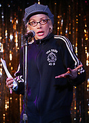 NEW YORK - MARCH 9: Comedian Janeane Garofalo participates in The Tuesday Show  at the Marquis March 9, 2004 in New York City.   (Photo by Matthew Peyton)