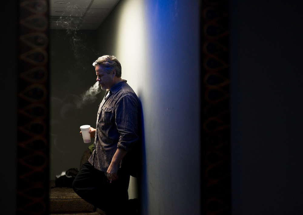 Robert Earl Keen, photographed backstage at the House of Blues in Houston, Texas.