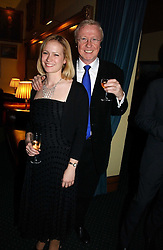 TV producer MIKE HOLLINGSWORTH former husband of Anne Diamond and MISS KIMBERLEY STEWART-MOLE at a reception to support The Hyde Park Appeal at the Officers Mess, Hyde Park Barracks, London SW1 on 24th January 2007.<br /><br />NON EXCLUSIVE - WORLD RIGHTS