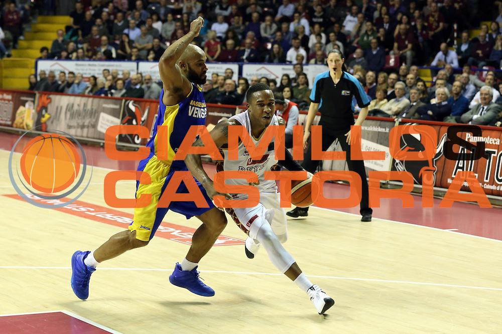 Tyrus Mcgee<br /> Umana Reyer Venzia vs BK Venspils<br /> Basketball Champions League 2016/2017<br /> Venezia, 22/02/2017<br /> Foto Ciamillo-Castoria/A. Gilardi