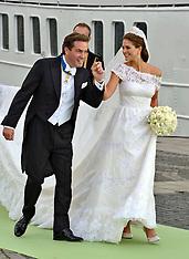 JUNE 08 2013 The Wedding Of Princess Madeleine & Christopher O'Neill