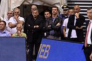 DESCRIZIONE : Siena Lega A 2013-14 Montepaschi Siena vs EA7 Emporio Armani Milano playoff Finale gara 3<br /> GIOCATORE : Livio Proli<br /> CATEGORIA : Vip<br /> SQUADRA : EA7 Emporio Armani Milano<br /> EVENTO : Finale gara 3 playoff<br /> GARA : Montepaschi Siena vs EA7 Emporio Armani Milano playoff Finale gara 3<br /> DATA : 19/06/2014<br /> SPORT : Pallacanestro <br /> AUTORE : Agenzia Ciamillo-Castoria/GiulioCiamillo<br /> Galleria : Lega Basket A 2013-2014  <br /> Fotonotizia : Siena Lega A 2013-14 Montepaschi Siena vs EA7 Emporio Armani Milano playoff Finale gara 3<br /> Predefinita :