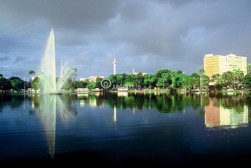 O Parque Solon de Lucena, tambem conhecido simplesmente como Lagoa, e um espaço publico de Joao Pessoa, capital do estado brasileiro da Paraiba./ The Solon de Lucena Park, also known simply as Lagoon, is a public space of Joao Pessoa, capital of the Brazilian state of Paraiba. Paraiba, Brasil - 2008