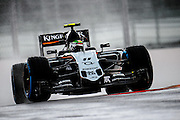 October 8, 2015: Russian GP 2015: Sergio Perez (MEX), Force India