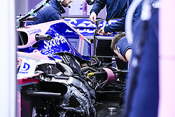 February 18, 2019 - Barcelona, Barcelona, Spain - SportPesa Racing Point F1 Team interior body parts in the box during the Formula 1 2019 Pre-Season Tests at Circuit de Barcelona - Catalunya in Montmelo, Spain on February 18. (Credit Image: © Xavier Bonilla/NurPhoto via ZUMA Press)