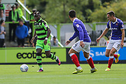 Forest Green Rovers Drissa Traoré(4) runs forward during the EFL Sky Bet League 2 match between Forest Green Rovers and Exeter City at the New Lawn, Forest Green, United Kingdom on 9 September 2017. Photo by Shane Healey.