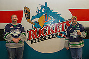KELOWNA, CANADA - DECEMBER 07:  Seattle Fans at the Kelowna Rockets game on December 07, 2016 at Prospera Place in Kelowna, British Columbia, Canada.  (Photo By Cindy Rogers/Nyasa Photography,  *** Local Caption ***