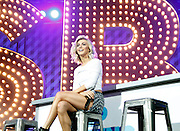 Julianne Hough appears during the Lip Sync Battle Live at SummerStage in Rumsey Playfield Central Park in New York City, New York on July 13, 2015.