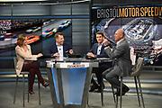 Race Hub broadcast from the Fox Sports studio in Charlotte North Carolina.  (4/11/18)